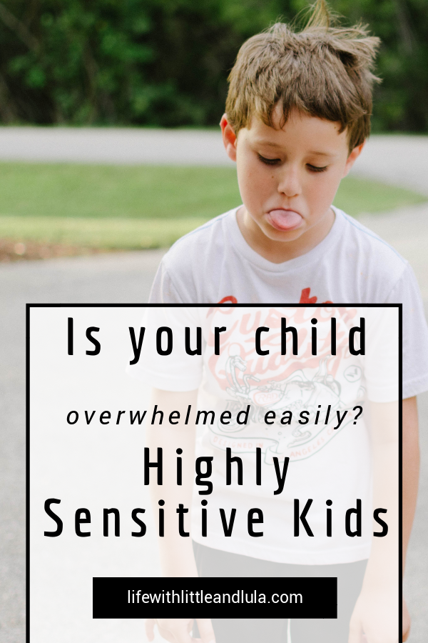 Wondering if your child is Highly Sensitive? In our society sensitivity can be seen as a problem or disadvantage. But there are many incredible things about being a highly sensitive person.