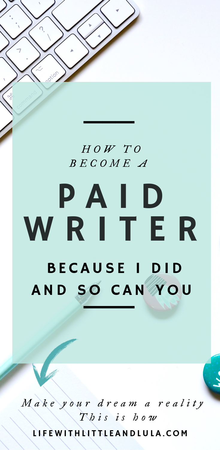 Do you dream of getting paid to write? Writing is a dream job but how do you get started in a writing career?