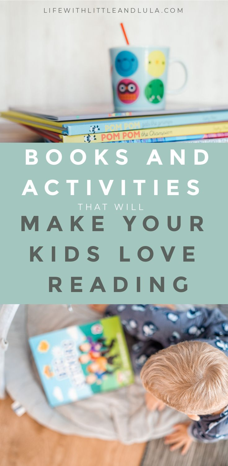 Parents often wonder how they can teach their children to read but there is something even more important if you want them to become life long readers: they need to learn to love reading! Get ideas here...